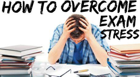 परीक्षा के डर से उत्पन्न तनाव
