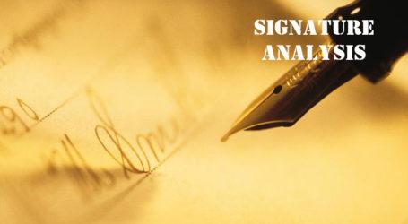 आपका हस्ताक्षर और आपका व्यक्तित्व