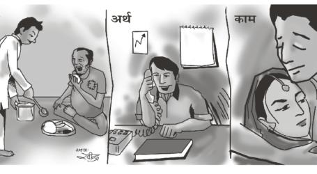 धर्म-अर्थ-काम जीवन के तीन लौकिक पुरुषार्थ